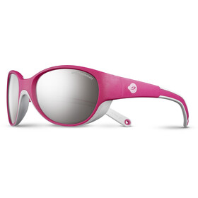 Julbo Kids 4-6Y Lily Spectron 4 Sunglasses Fuchsia/Light Gray-Gray Flash Silver